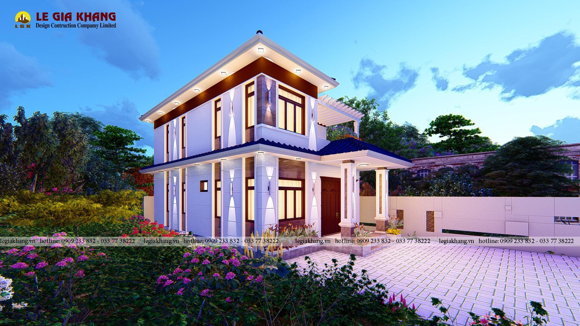 Nhà Phố Biên Hòa - Nhà Mái Nhật 1