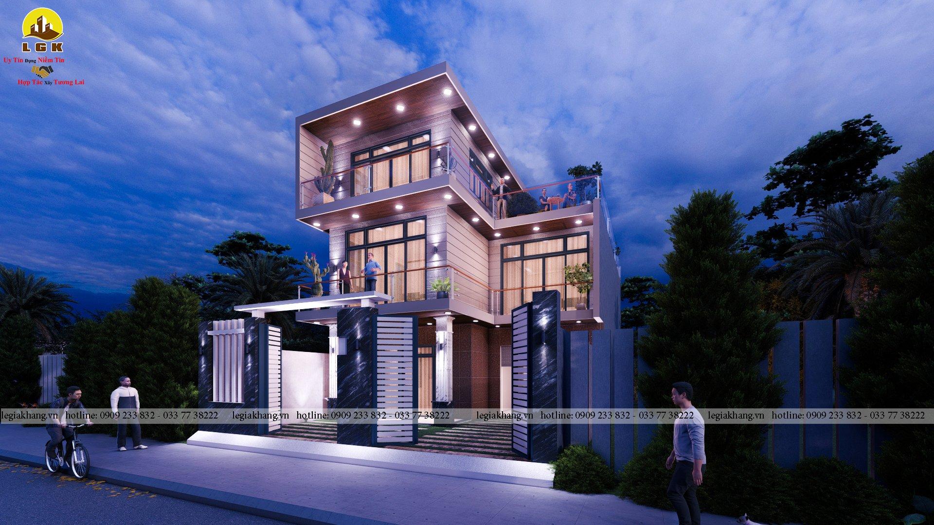 Villa -10x20m 9